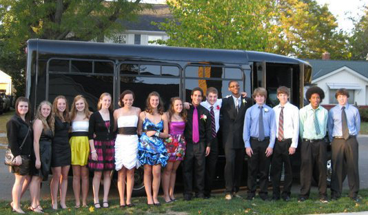 Stay safe on prom and homecoming night.  Hire a limo to take you to and from the dance.